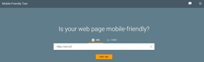 Google's Mobile-Friendly Test Tool